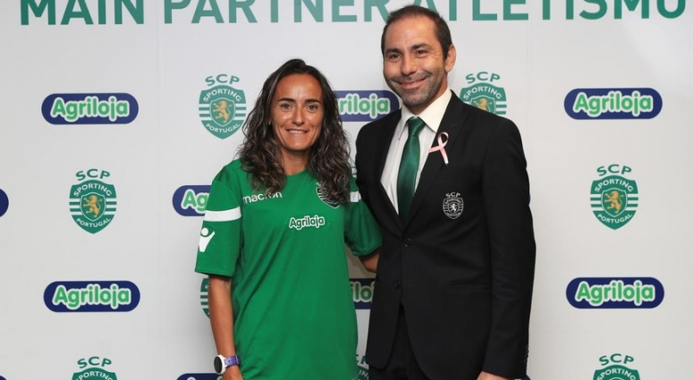 Inês Monteiro e Nuno Lopes, do CAS, integram equipa de atletismo Sporting